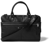 Creased-leather Briefcase