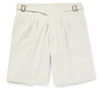 Manny Washed-cotton Bermuda Shorts