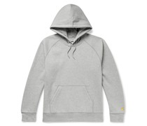 Chase Mélange Fleece-Back Cotton-Blend Jersey Hoodie