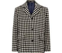 Klee Checked Virgin Wool-Blend Jacket