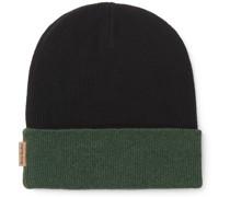 Reversible Colour-Block Wool Beanie
