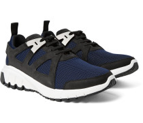 Molecular Runner Nubuck And Mesh Sneakers