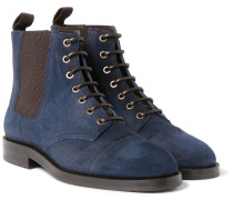 Jules Waxed-suede Boots