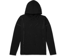 Embroidered Loopback Jersey Hoodie