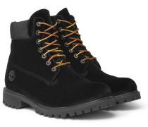 + Timberland Velvet Boots