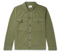 Colin Cotton-Twill Overshirt