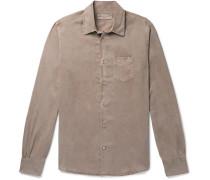 Benoit Pigment-Dyed Lyocell Shirt