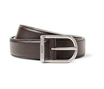 3cm Dark-Brown Leather Belt