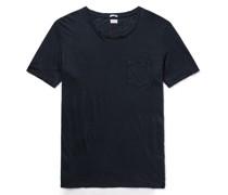 Alicudi Slim-Fit Linen-Jersey T-Shirt
