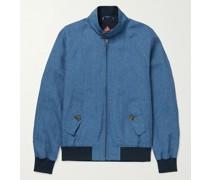 G9 Linen Harrington Jacket