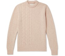 Blenheim Cable-Knit Wool Sweater
