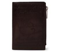 Periple Scritto Leather Wallet