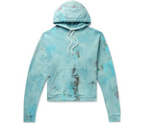 Beach Tie-Dyed Loopback Cotton-Jersey Hoodie