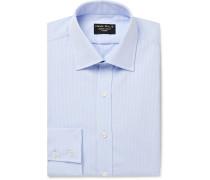 Striped Cotton-Seersucker Shirt