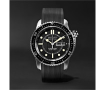 S500 Supermarine Automatic 43mm Stainless Steel and Rubber Watch, Ref. No. S500/BK