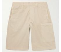 Havana Garment-Dyed Cotton-Twill Shorts