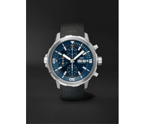Aquatimer Expedition Jacques-Yves Cousteau Edition Automatic Chronograph 44mm Stainless Steel and Rubber Watch, Ref. No. IW376805