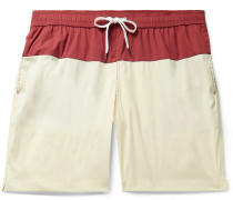 Charles Long-Length Colour-Block Swim Shorts