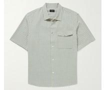 Stretch-Cotton Seersucker Shirt
