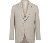 Slim-Fit Wool and Cashmere-Blend Blazer