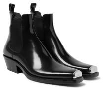 Chris Metal Toe-cap Leather Boots