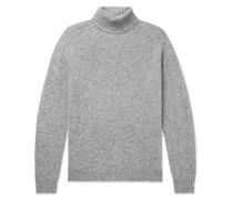 Sylvester Slim-Fit Mélange Wool Rollneck Sweater