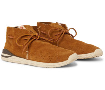 Huron Moc-Folk Beaded Suede Boots