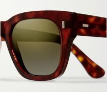 D-Frame Tortoiseshell Acetate Sunglasses