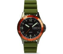 Archive Navi Land Stainless Steel and Silicone Watch