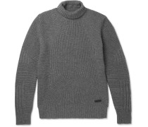Littlehurst Ribbed Wool And Cashmere-blend Rollneck Sweater