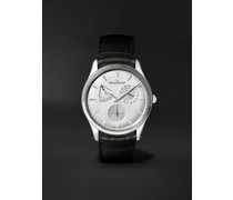 Master Ultra Thin Réserve De Marche Automatic 39mm Stainless Steel and Alligator Watch, Ref No. Q1378420
