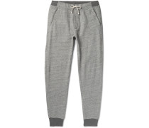Classic Tapered Fleece-back Cotton-blend Jersey Sweatpants