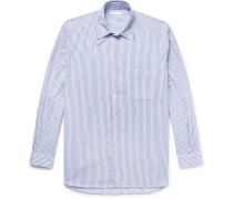 Striped Cotton-twill Shirt