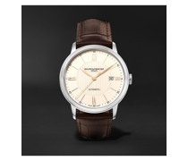 Classima Automatic 40mm Stainless Steel and Alligator Watch, Ref. No. 10263