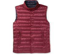 Reversible Quilted Shell Down Gilet