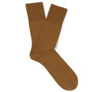 Airport Virgin Wool-blend Socks