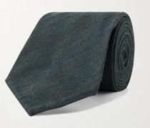8cm Mélange Wool and Silk-Blend Tie