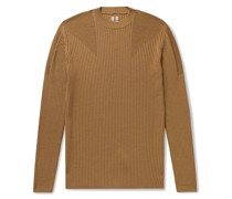 Ribbed Virgin Wool Sweater