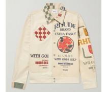 Printed Cotton-Canvas Jacket
