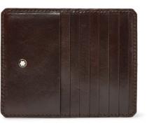 Heritage Leather Zipped Cardholder