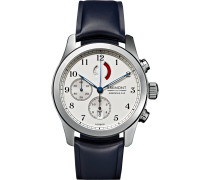 America's Cup Regatta Stainless Steel And Rubber Chronograph Watch