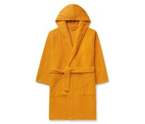 Organic Cotton-Terry Hooded Robe