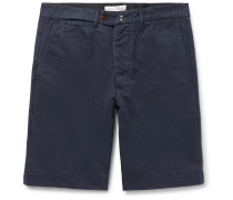 Fisherman Cotton-Twill Shorts