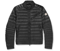 Royat Quilted Shell Down Biker Jacket