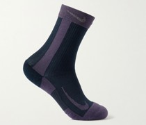 Multiplayer Max Crew Two-Pack Stretch-Knit Socks