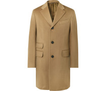 Slim-Fit Wool and Cashmere-Blend Overcoat