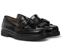 Weejuns 90s Layton II Kiltie Polished-Leather Tasselled Loafers