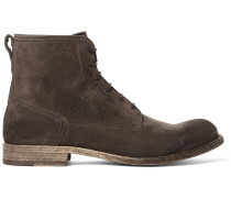 Alperton Burnished-suede Boots