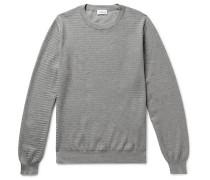 Textured-cotton Sweater