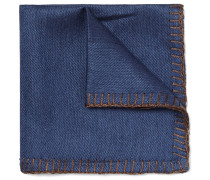 Silk And Cashmere-blend Pocket Square